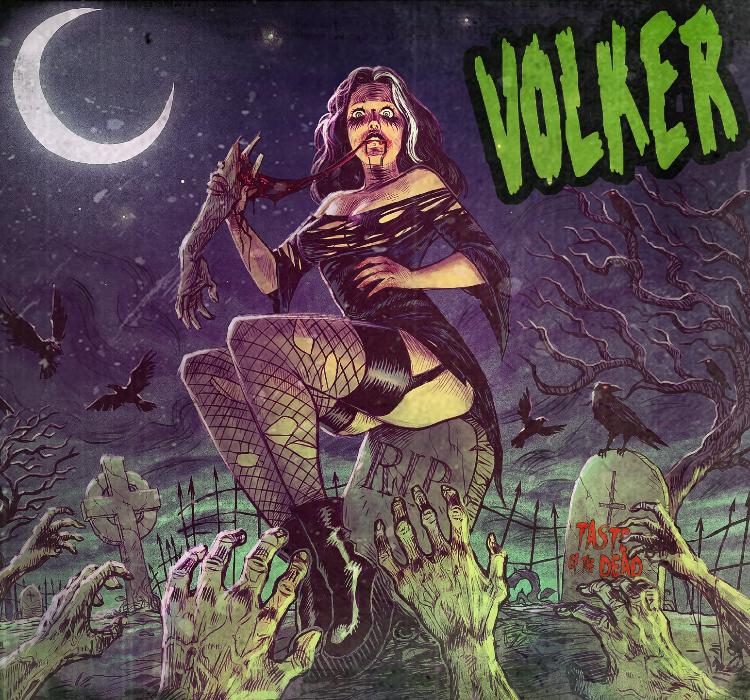 Volker – Taste Of The Dead