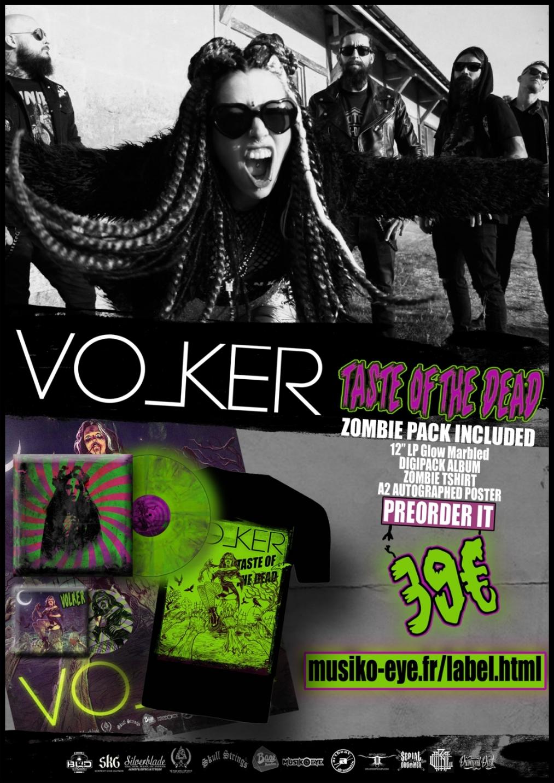 Volker – Taste Of The Dead – Zombie Pack