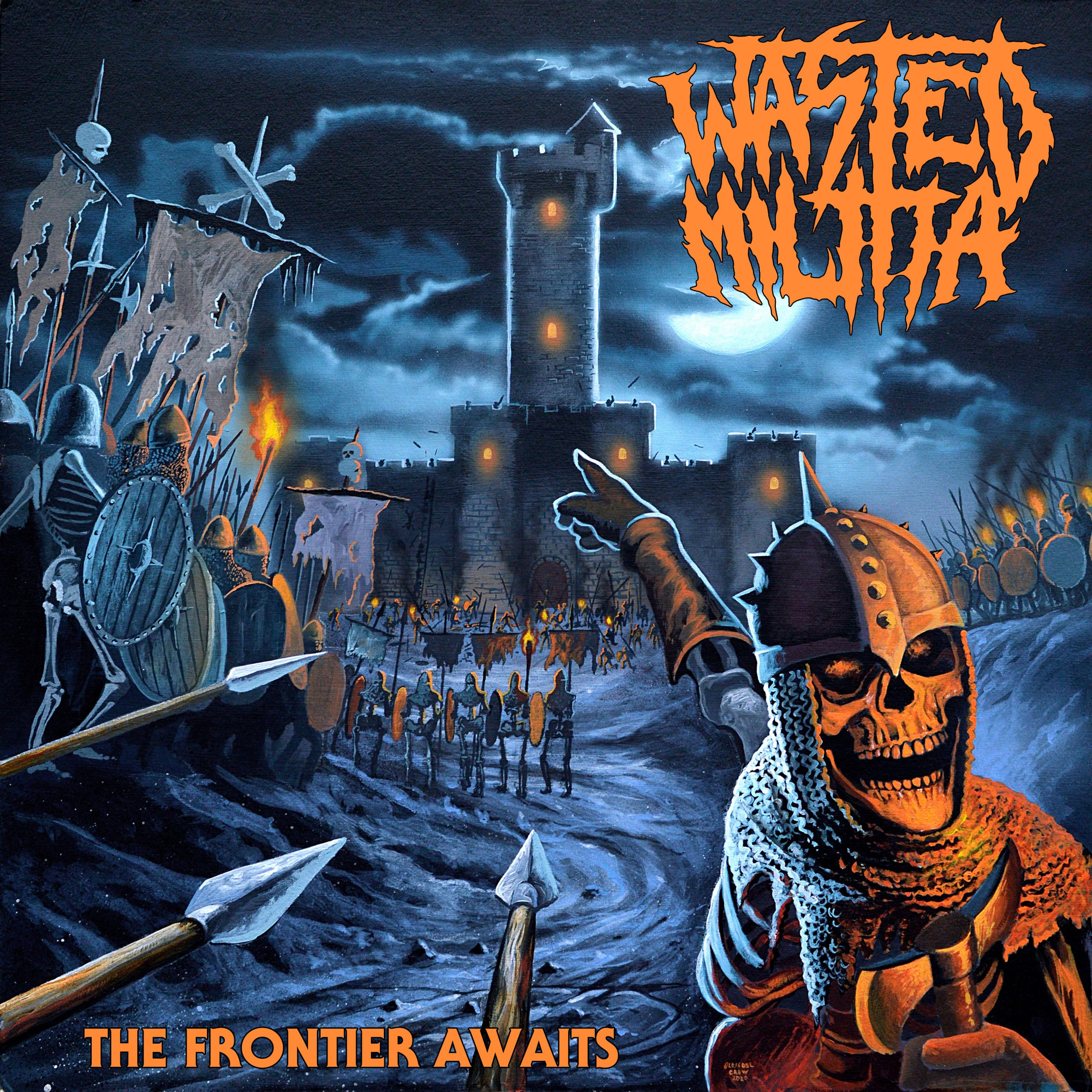 WASTED MILITIA – THE FRONTIER AWAITS