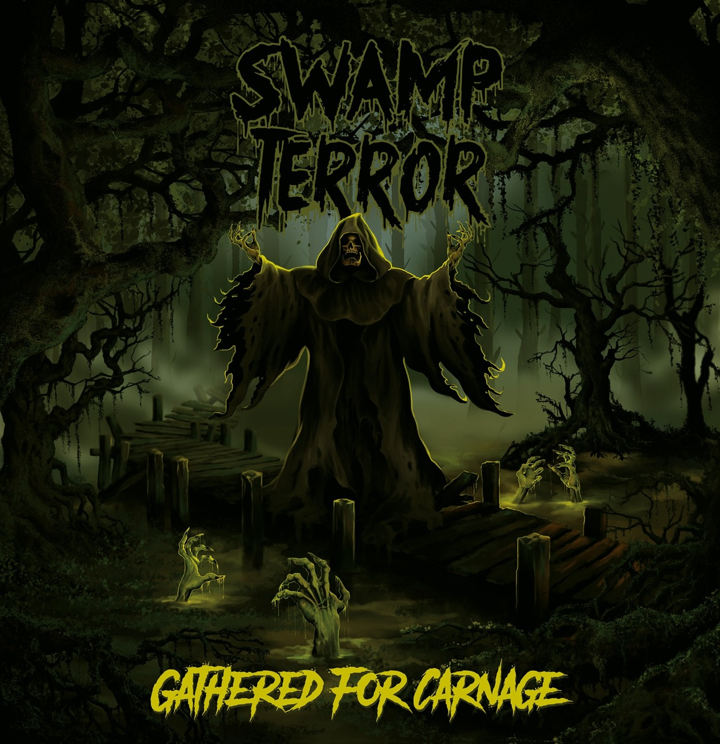 SWAMP TERROR – GATHERED FOR CARNAGE