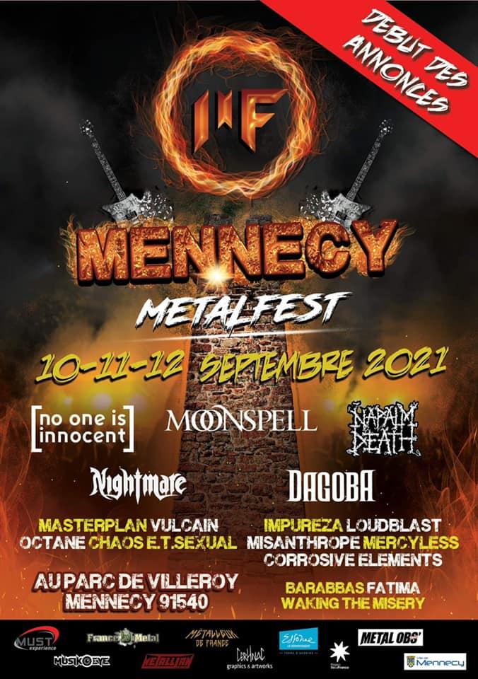 Mennecy Metal Fest : Édition 2021